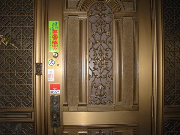 玄関の鍵の強化
